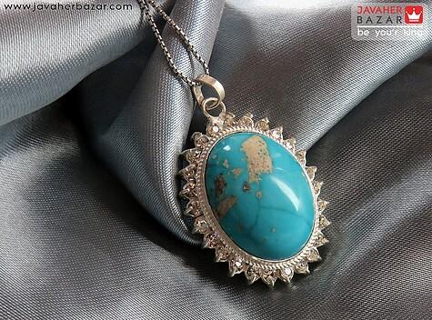 مدال نقره فیروزه کرمانی طرح غزاله - 55480