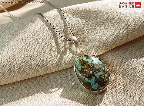 مدال نقره فیروزه نیشابوری خاص - 58005
