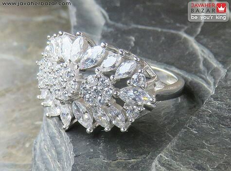 انگشتر نقره طرح خاص زنانه