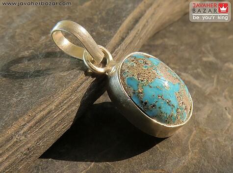 مدال نقره فیروزه نیشابوری خاص - 58264