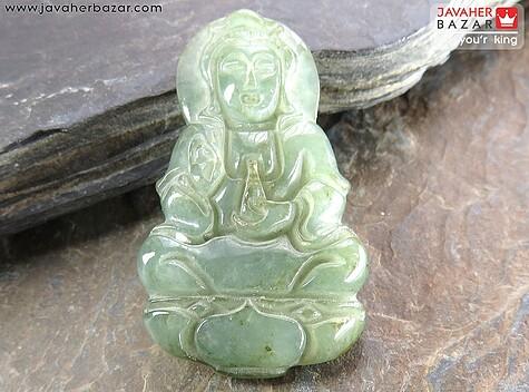 تندیس یشم چین طرح مجسمه - 58976