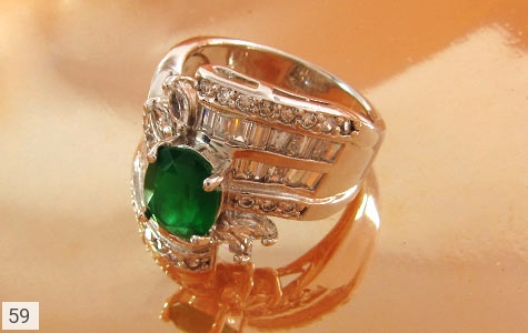 عکس انگشتر تـایلنـدی سلطنتی زنانه - شماره 4