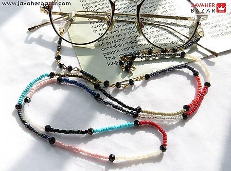آویز عینک خوش رنگ دست ساز