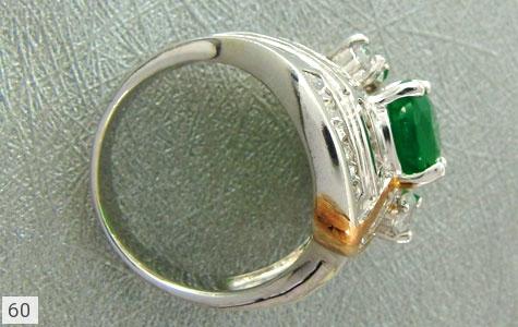 عکس انگشتر تـایلنـدی 2 رنگ زنانه - شماره 4