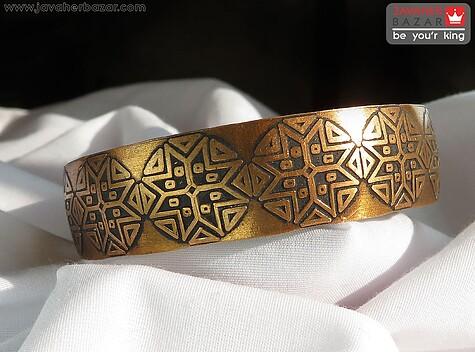 دستبند مس طرح مصری