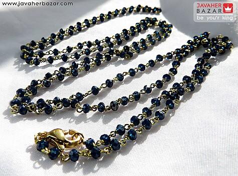 دستبند یا پابند آبی زنانه دست ساز