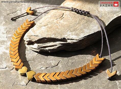 دستبند استیل طرح قلب زنانه
