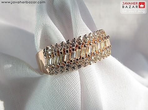انگشتر نقره طرح زیبا زنانه