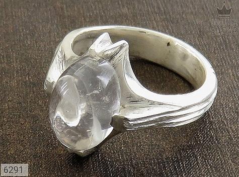 انگشتر نقره در نجف دست ساز مردانه - 6291