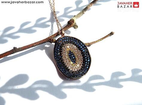 مدال نقره طرح رویا به همراه زنجیر