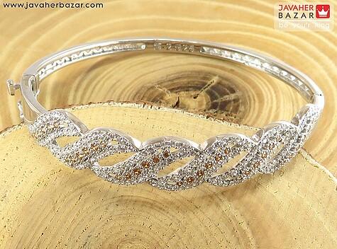 دستبند نقره اسپرت شیک و خاص زنانه
