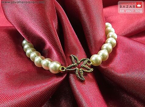 دستبند مروارید سنتاتیک طرح های متنوع زنانه