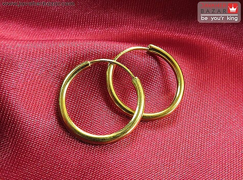 گوشواره نقره حلقه ای کوچک