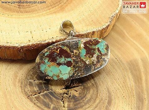 مدال فیروزه کرمانی زیبا - 64221