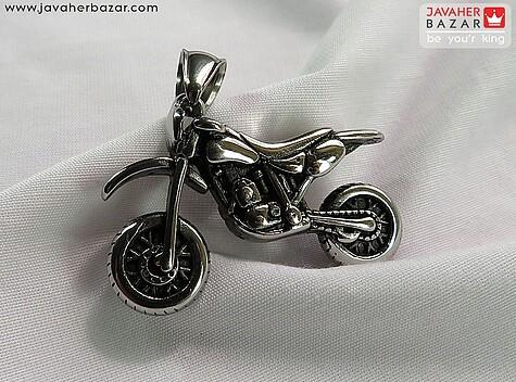 مدال استیل طرح موتور - 64499