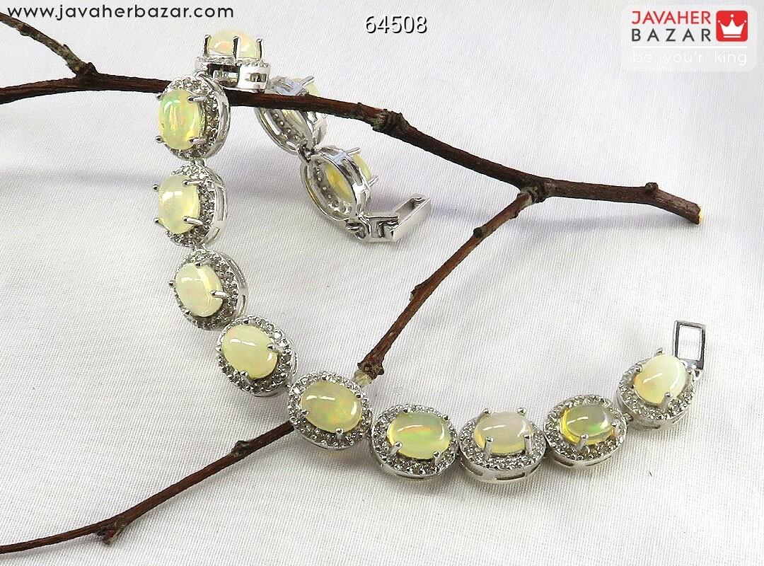 تصویر عکس خرید ، قیمت و خواص دستبند اپال سفید زنانه اصل