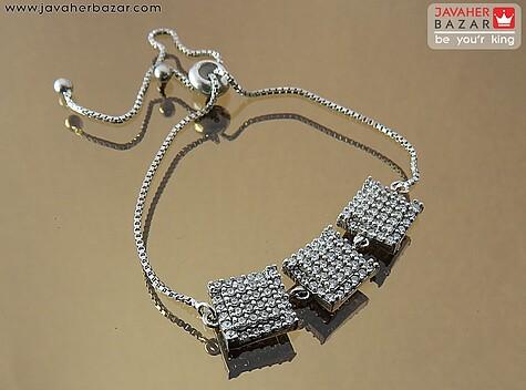 دستبند نقره زیبا و شیک زنانه