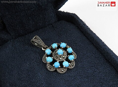 مدال نقره فیروزه نیشابوری عجمی
