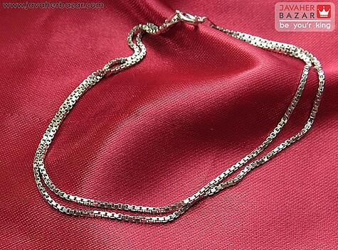 زنجیر نقره 45 سانتی ونیزی زنانه