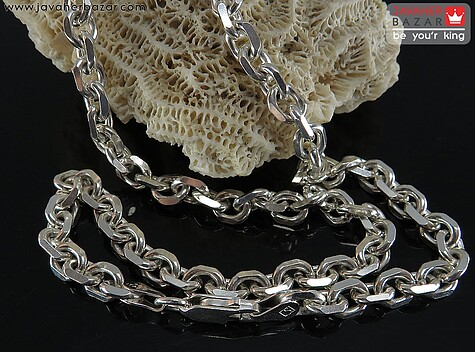 زنجیر نقره 60 سانتی فلامینگو
