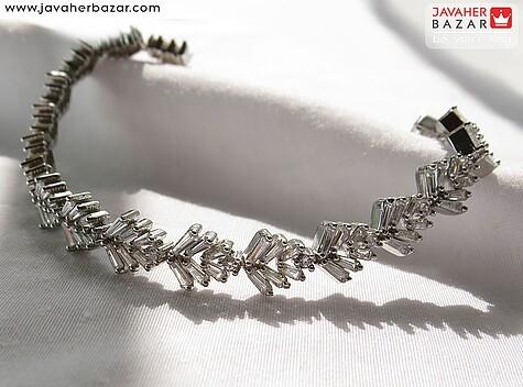 دستبند نقره طرح دنریس زنانه