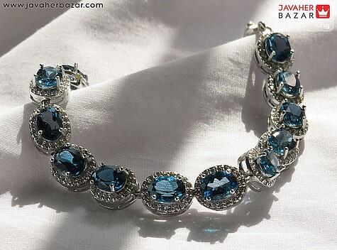 دستبند نقره توپاز لندن آدورینا زنانه