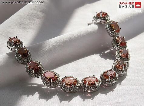 دستبند نقره الکساندریت زولتنایت جذاب زنانه