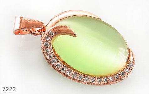 عکس مدال نقره چشم گربه طرح رویا زنانه