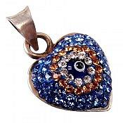 مدال نقره فانتزی طرح قلب