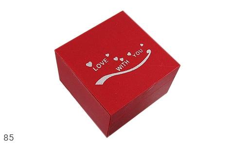 عکس جعبه جواهر چوبی طرح Love - شماره 1