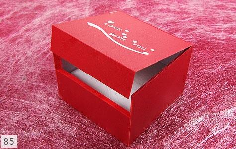 تصویر جعبه جواهر چوبی طرح Love - شماره 2