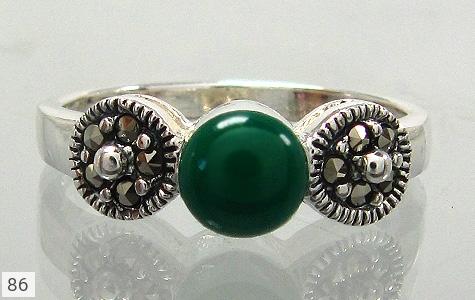 انگشتر نقره زنانه - 86