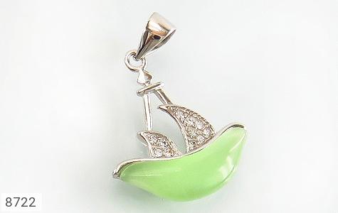 عکس مدال چشم گربه طرح قایق فانتزی زنانه