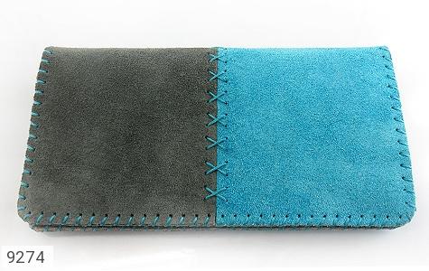 تصویر کیف چرم طبیعی اشبالت دو رنگ دست دوز زنانه - شماره 2