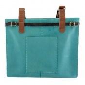 کیف چرم طبیعی دست دوز سایز درشت زنانه