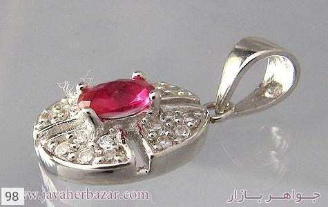 عکس مدال نقره نگین اتمی زنانه - شماره 4