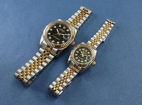 ساعت مچی ست دیت جاست Rolex - 17844