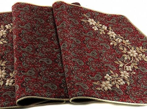 ترمه رومیزی رومیزی رومیزی رومیزی سجاده جانماز رانر - 19146