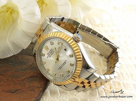 عکس ساعت سفید مردانه