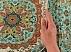 ترمه رومیزی طرح آیدا خوش رنگ دست ساز - 29638 - 6