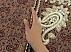 ترمه رومیزی ابریشم حسینی دست ساز - 30578 - 5