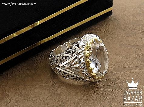 انگشتر نقره در نجف طرح سلطنتی مردانه - 30617