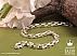 زنجیر نقره 45 سانتی - 31965 - 1