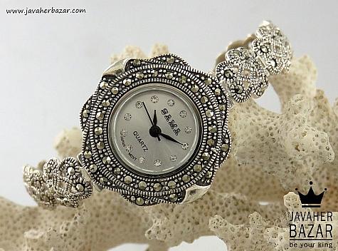 ساعت مچی نقره مجلسی وشیک زنانه quartz - 32447