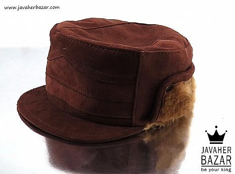 کلاه جیر طبیعی قهوه ای مردانه - 32549