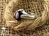 انگشتر نقره یاقوت آفریقایی کبود ظریف مردانه - 32850 - 1