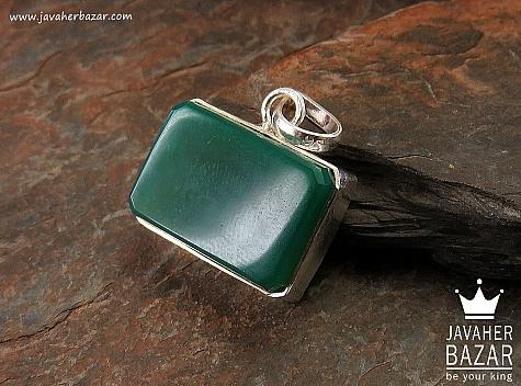 مدال عقیق سبز زنانه