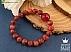 دستبند جید قرمز زنانه - 33620 - 1