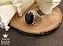 انگشتر نقره یاقوت آفریقایی کبود شاهانه مردانه دست ساز - 33869 - 1