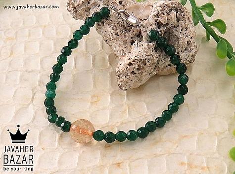 دستبند جید سبز